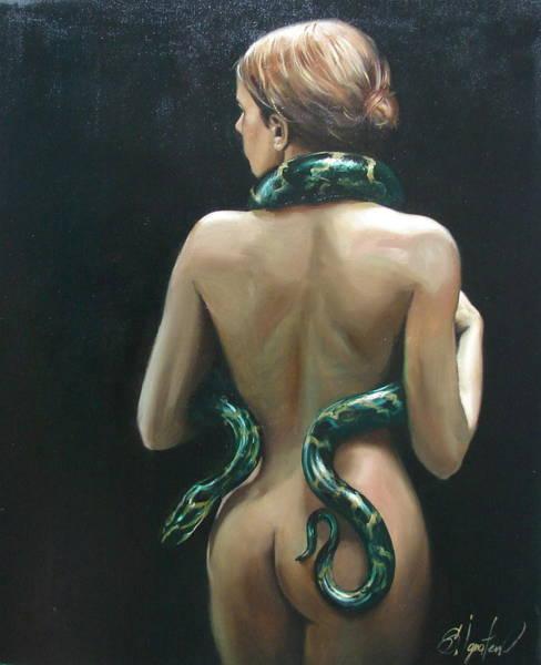 Ignatenko Painting - Eva2 by Sergey Ignatenko