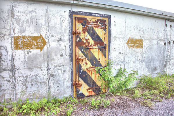 Photograph - Evacuation Door by Gordon Elwell