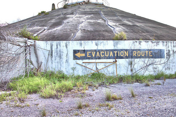 Photograph - Evacuation Route by Gordon Elwell