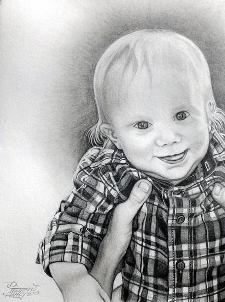 Drawing - Evan by Danielle R T Haney