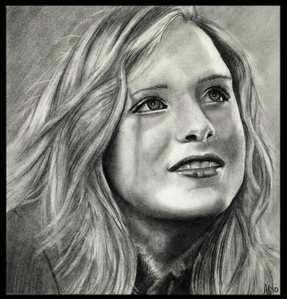 Wall Art - Drawing - Evan Rachel Wood by Alycia Ryan