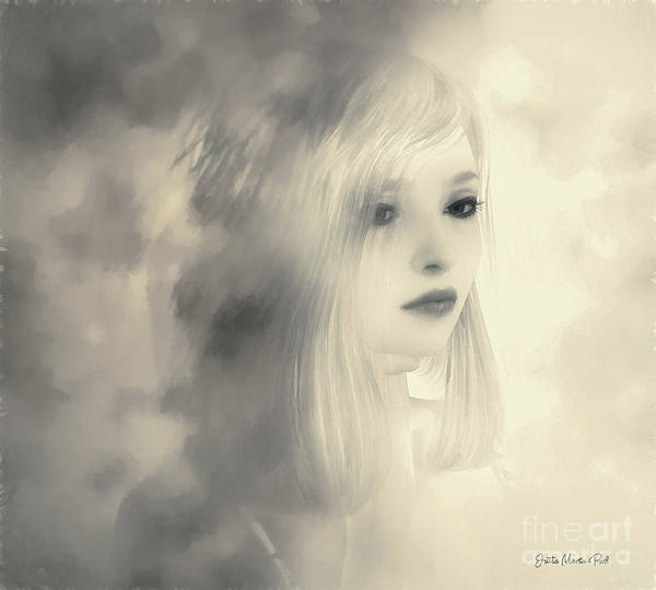 Digital Art - Evanescent by Jutta Maria Pusl