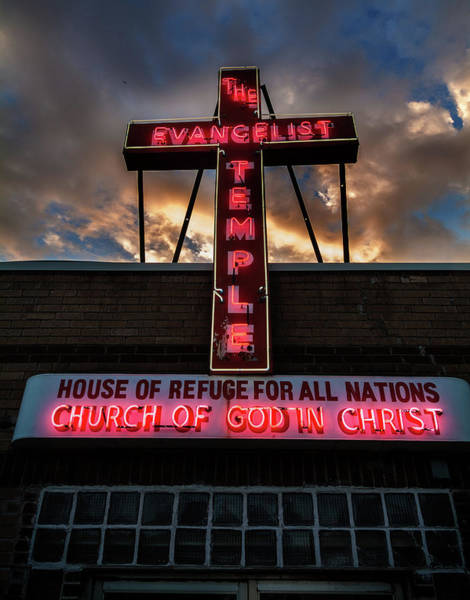 Photograph - Evangelist Temple by Bud Simpson