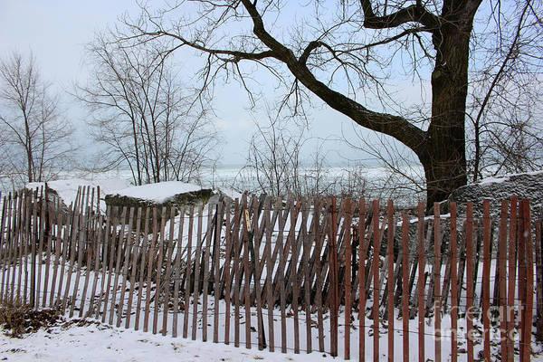 Evanston Winter Art Print
