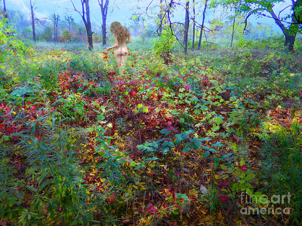 Wall Art - Photograph - Eve Exiting Eden by Gregory James Wyrick