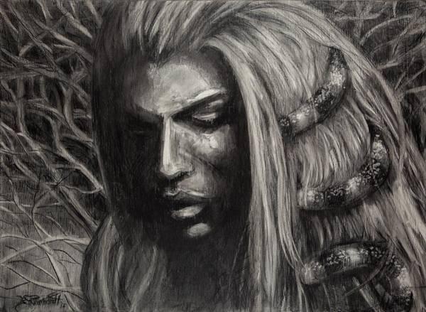 Drawing - Eve by Jason Reinhardt