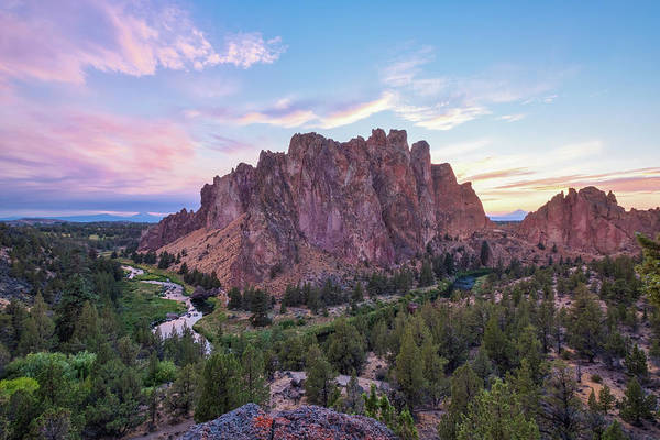 Crooked River Photograph - Eve Of The Eclipse by Patricia Davidson