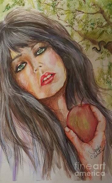 Wall Art - Drawing - Eve by Sandra Valentini