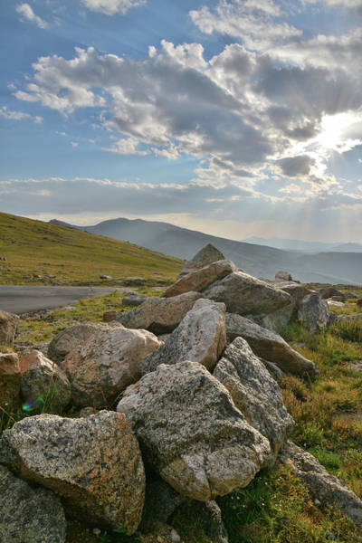 Photograph - Evening Along Mt. Evans Highway by Ray Mathis