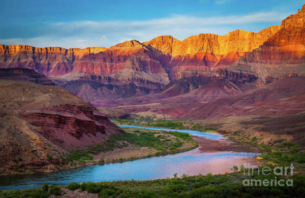 Grand Canyon Photograph - Evening At Cardenas by Inge Johnsson