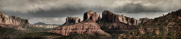 Photograph - Evening At Cathedral Rock Pano Bz by Theo O'Connor