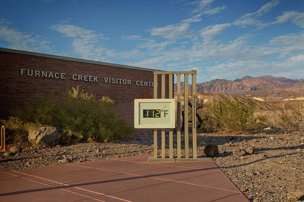 Furnace Creek Photograph - Evening At Furnace Creek by Ricky Barnard