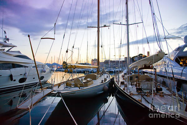 Photograph - Evening At Harbor  by Ariadna De Raadt