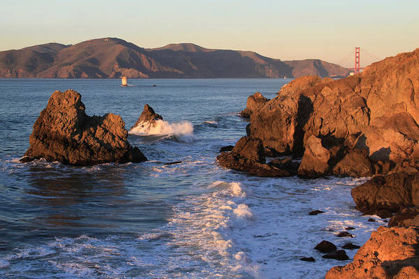 Photograph - Evening At Land's End by Bonnie Follett