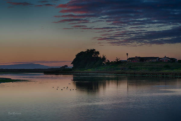 Monterey Bay Photograph - Evening At Moss Landing by Bill Roberts