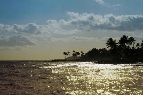 Photograph - Evening At Poipiu Kauai by Bonnie Follett