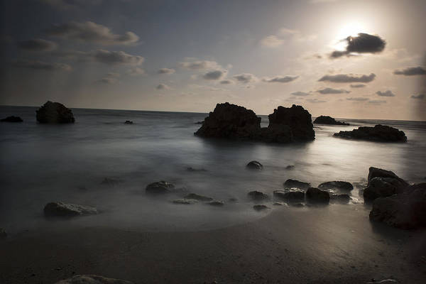 Photograph - Evening At Sidna Ali Beach 1 by Dubi Roman