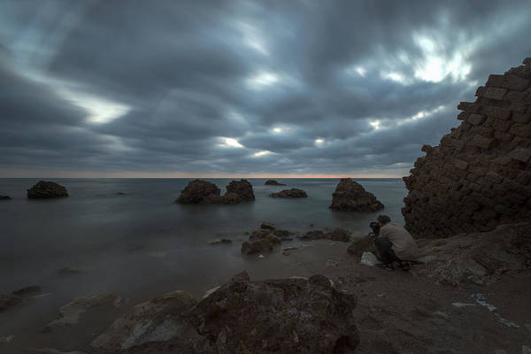 Photograph - Evening At Sidna Ali Beach 4 by Dubi Roman