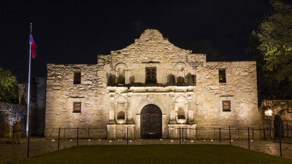 Wall Art - Photograph - Evening At The Alamo by Stephen Stookey