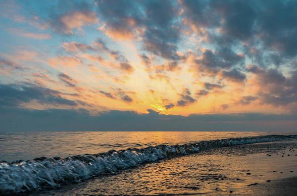 Wall Art - Photograph - Evening At The Beach by Aaron Burden