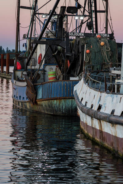Photograph - Evening At The Boat Basin by Robert Potts
