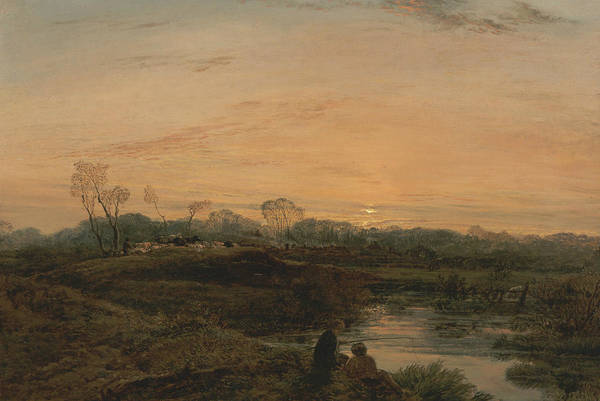 Painting - Evening, Bayswater by John Linnell