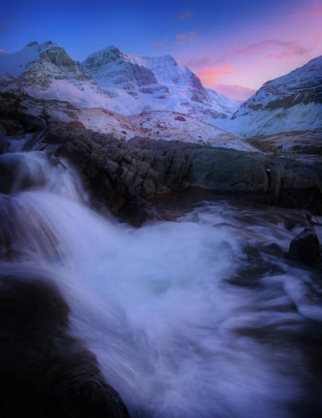Photograph - Evening By The Icefields by Dan Jurak
