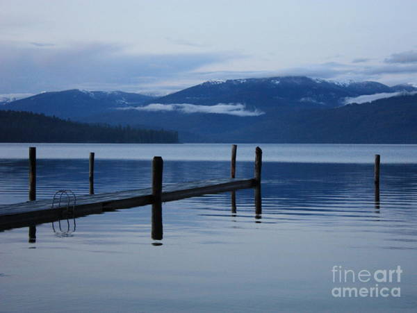 Priest Lake Photograph - Tranquil Blue Priest Lake by Carol Groenen