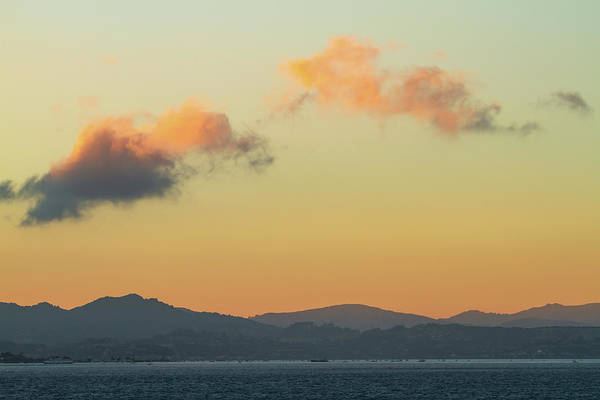 Photograph - Evening Clouds Over The Bay by Bonnie Follett