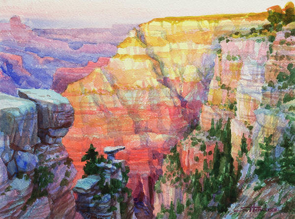 Arizona Painting - Evening Colors  by Steve Henderson