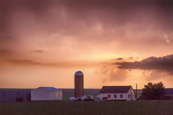Photograph - Evening Country Storm by James BO Insogna