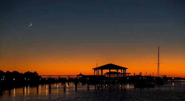 Photograph - Evening From Folly Beach by Donnie Whitaker