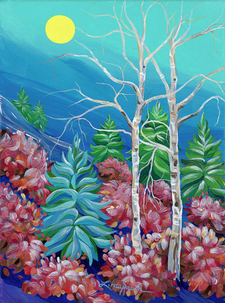 Painting - Evening Frost by Linda Rauch