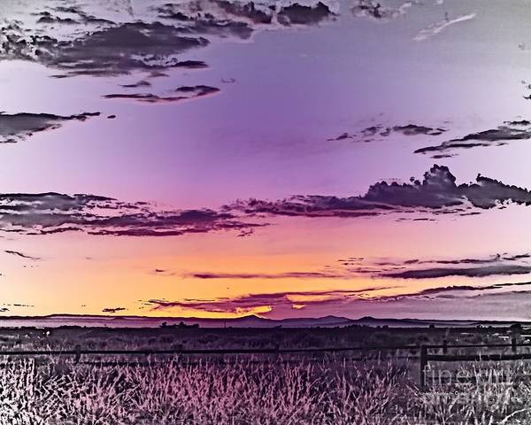 Photograph - Evening Glow by Charles Muhle