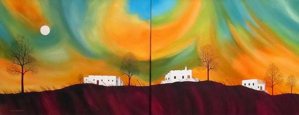Wall Art - Painting - Evening Haboob by Carol Sabo