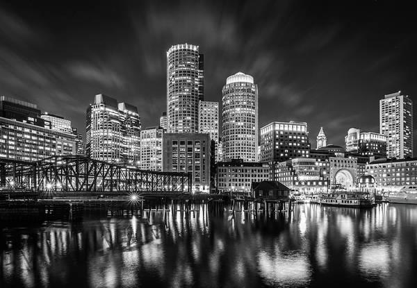 Photograph - Evening In Boston by Kristen Wilkinson