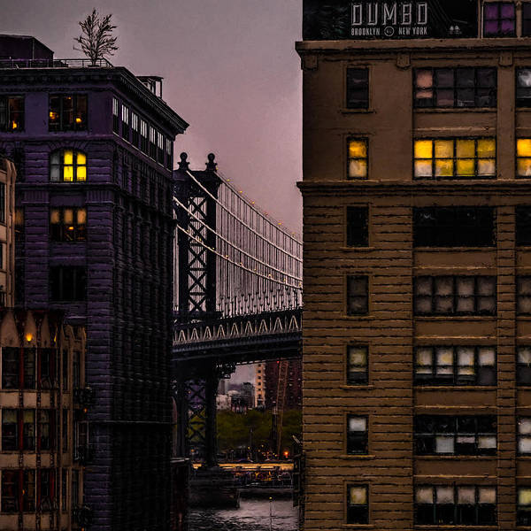 Wall Art - Photograph - Evening In Dumbo by Chris Lord