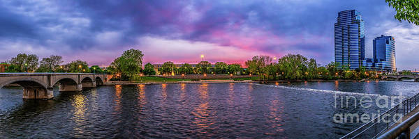 Photograph - Evening In Grand Rapids by Nick Zelinsky