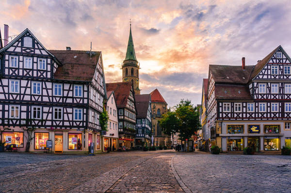 Photograph - Evening In Schorndorf by Dmytro Korol