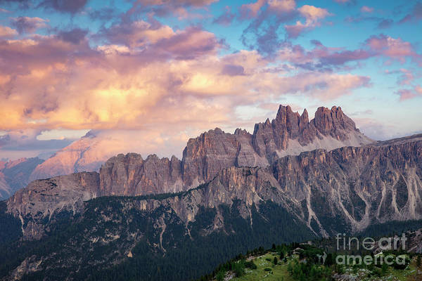Photograph - Evening In The Dolomites by Brian Jannsen