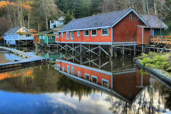 Photograph - Evening Light At Telegraph Cove by Adam Jewell