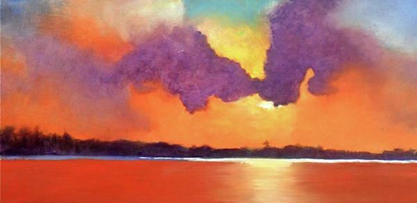 Port Townsend Painting - Evening Light by James Murphy