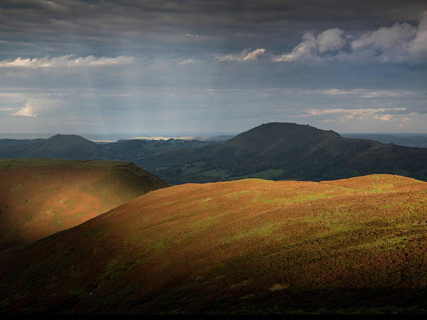 Church Stretton Wall Art - Photograph - Evening Light by Richard Greswell