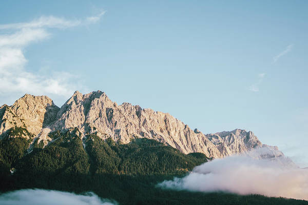 Wall Art - Photograph - Evening Mountain Clouds by Pati Photography