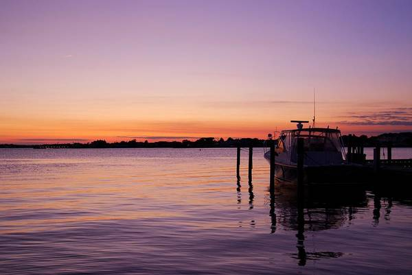Photograph - Evening Of Peace - Jersey Shore by Angie Tirado