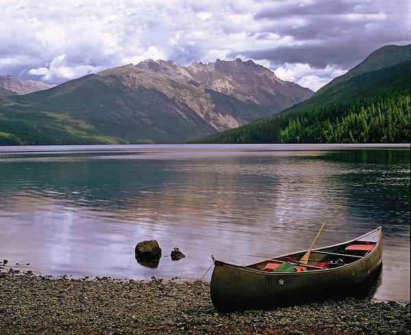 Photograph - Evening On Kintla Lake by Paul Breitkreuz