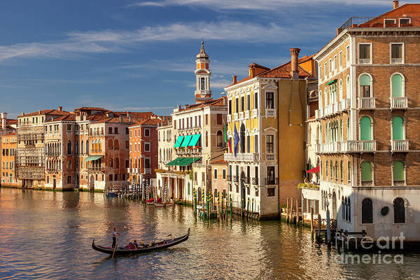 Photograph - Evening On The Grand Canal by Brian Jannsen