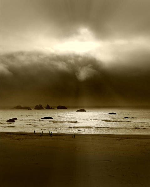 Photograph - Evening Rays by Micki Findlay