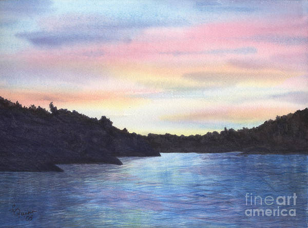 Painting - Evening Silhouette by Lynn Quinn