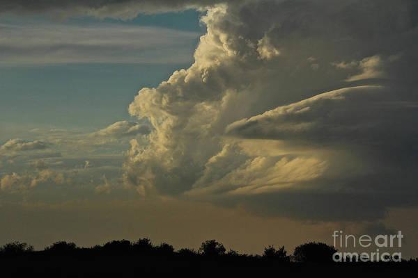 Photograph - Evening Sky by Ann E Robson
